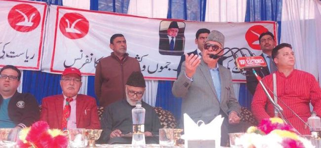 New Delhi will be respected if they respect us: Farooq