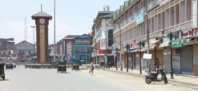 JRL sponsored strike calls disrupts normal life in Kashmir