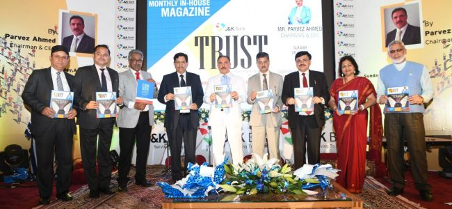 JK Bank launches its in house magazine