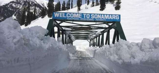 Srinagar-Sonamarg road to be opened for traffic tomorrow