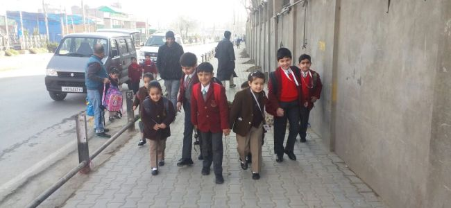 New school timing is like early morning crackdown on kids: PSAJK