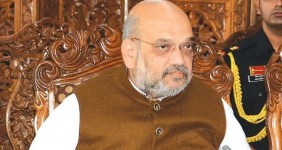 HM Amit Shah holds meeting with top security brass