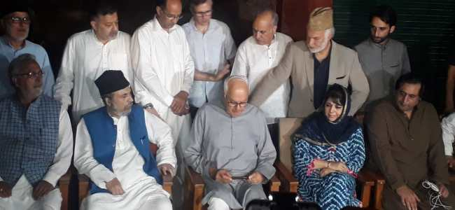 J-K parties will fight attempt to abrogate special status of state: Abdullah