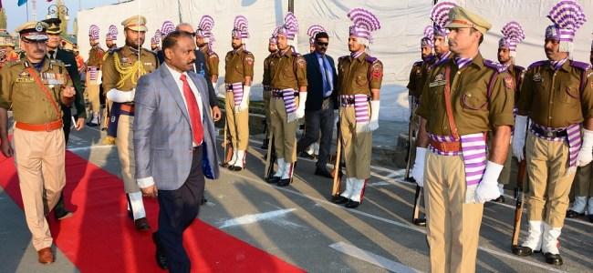 Lieutenant Governor visits Civil Secretariat, receives Guard of Honour