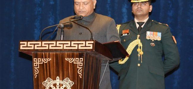 RK Mathur takes oath as Ladakh's first Lieutenant Governor