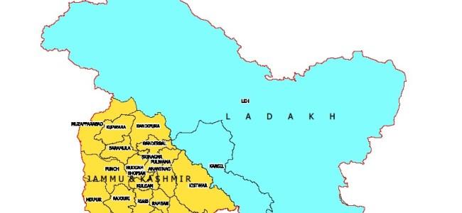 J&K, Ladakh gets new Maps