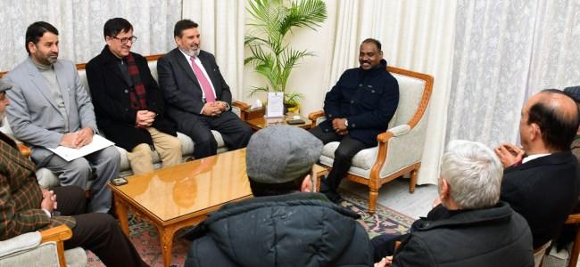 Former Legislators, Politicians meet Lt Governor