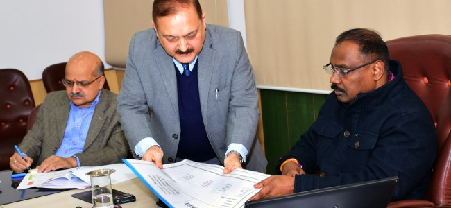 Lt Governor reviews progress of the digitization of Land Records in J&K under DILRMP