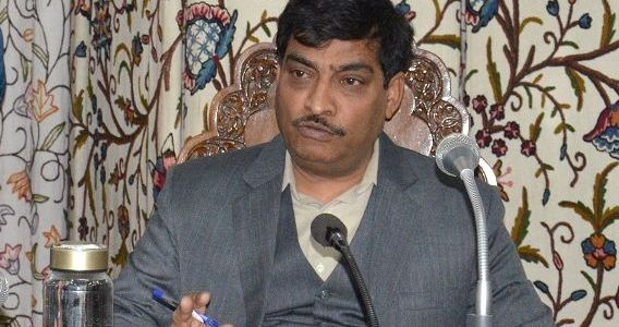 CS, Secy MoRTH review Road Sector Projects in JK