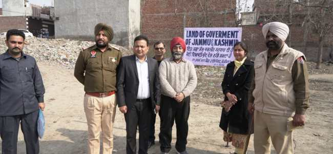 JK govt reclaims land in Amritsar after 56 years