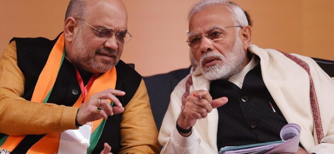 HM Amit Shah meets PM; briefs on CMs views on lockdown