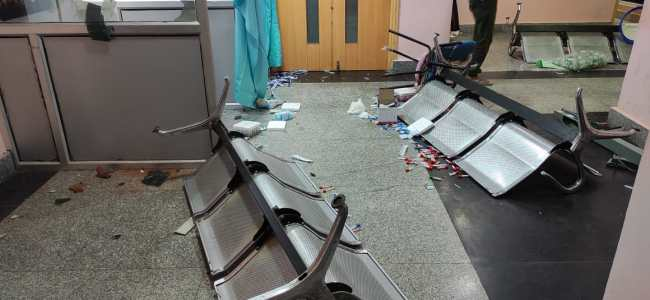 Private Hospital ransacked after woman's death