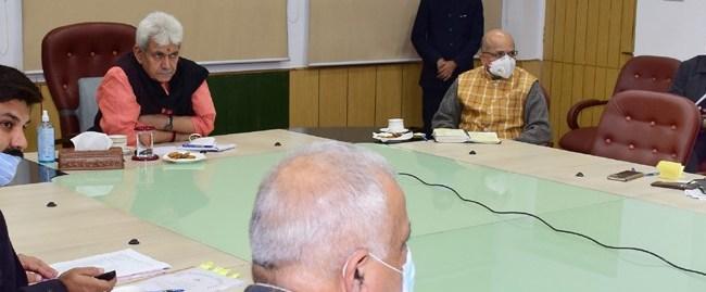 Lt Governor chairs preparatory meeting of Amarnath Yatra-2021
