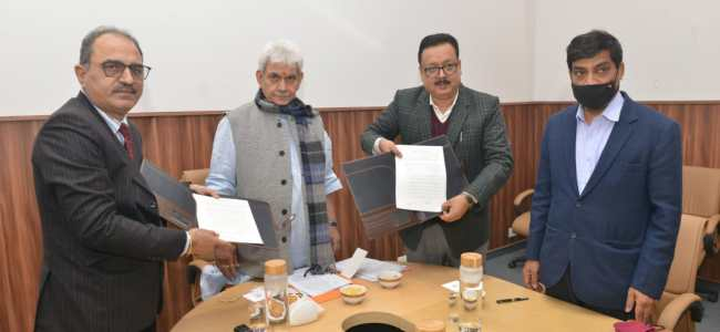 J&K Government signs historic MoU with NAFED