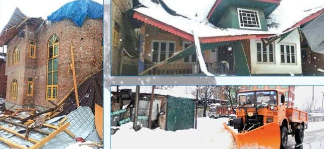 Heavy snowfall declared as state specific natural calamity under SDRF in JK