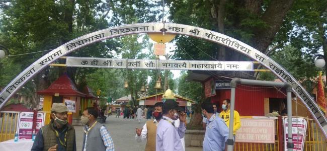 Kashmiri Pandits observe annual Kheer Bhawani mela amid Covid scare