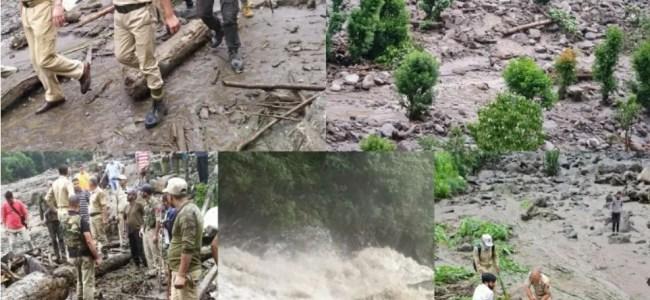 Kishtwar Cloudburst: Rescue operation resumes, 19 persons including 8 women still missing