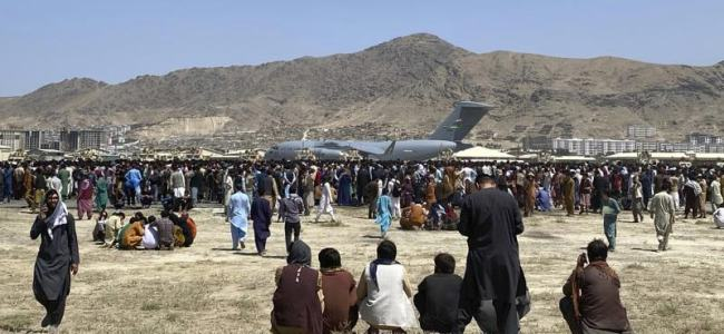 US expects to admit more than 50,000 evacuated Afghans
