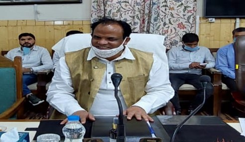 Union Minister for Minority Affairs reaches Kupwara for 2 day visit