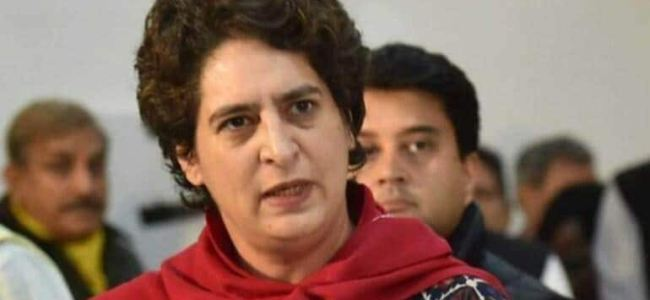 Ensure safety of all citizens in JK: Priyanka to Centre
