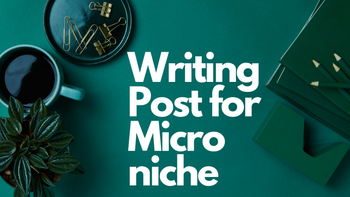 How to make a Micro niche blog & Website