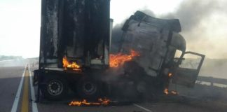 N1 accident Truck
