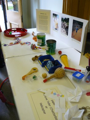 Some of the traditional games being offered by Judy McKinty