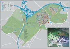 Official map of Landschaftspark.