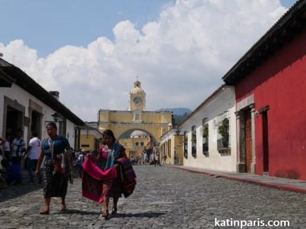 Antigua, Łuk świętej Katarzyny