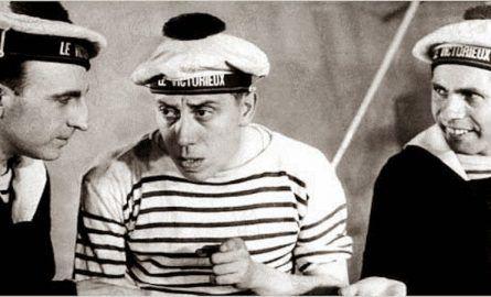 Marinière koszulka francuskich marynarzy