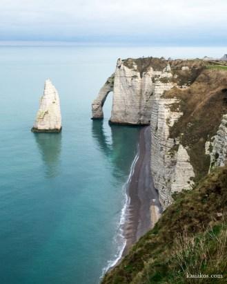 Normandia klify