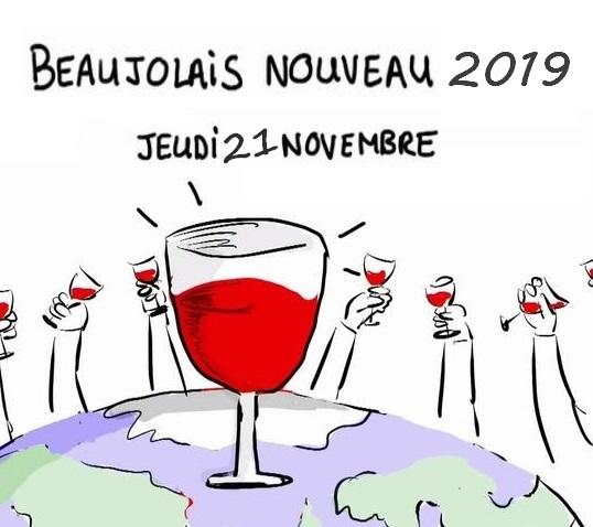 kiedy jest obchodzone beaujolais nouveau