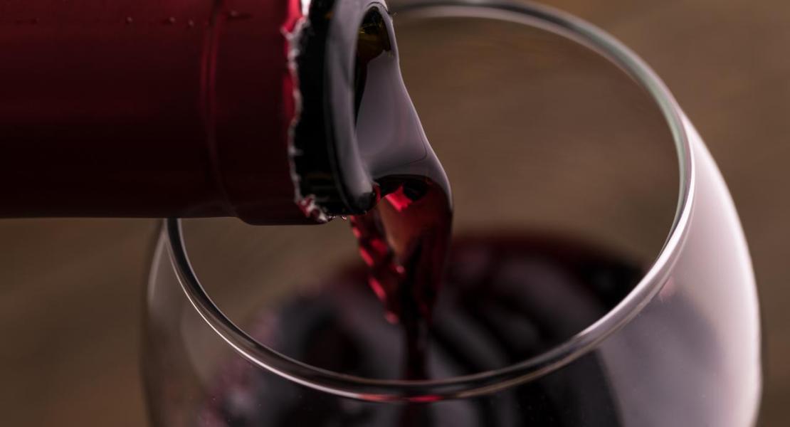 czerwone wino francja