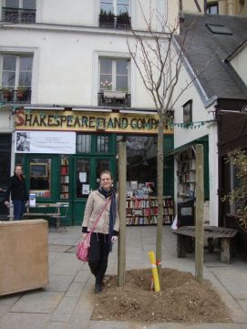 I visited Shakespeare & Co. on March 4, 2012. Feeling weepy about it.