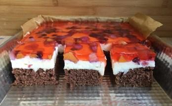 Ciasto Owocowy kąsek