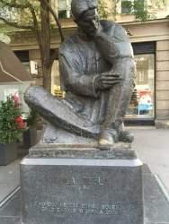 Statue of Nicola Tesla