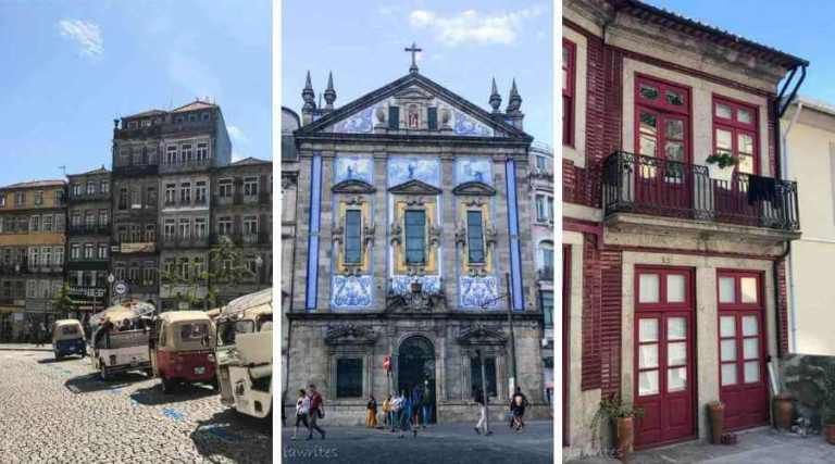 building facades are just some of Porto attractions