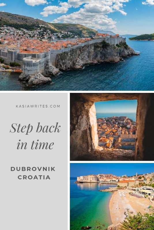 collage of coastal Durbrovnik