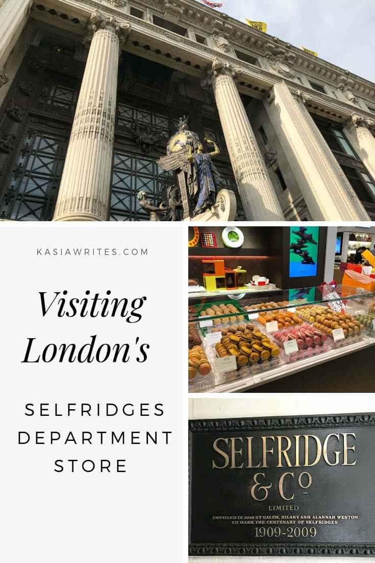 """Walk into history and the Netflix show """"Mr. Selfridge"""" with at stop at London's iconic Selfridges department store, opened in 1908 by Harry Selfridge."""