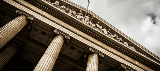 A visit to the British Museum in London