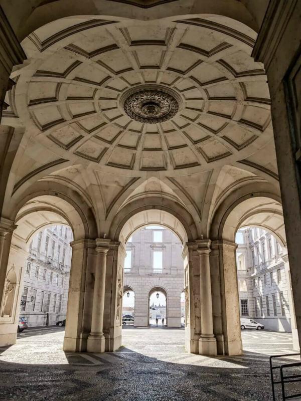 Ajuda Natinal Palace Lisbon