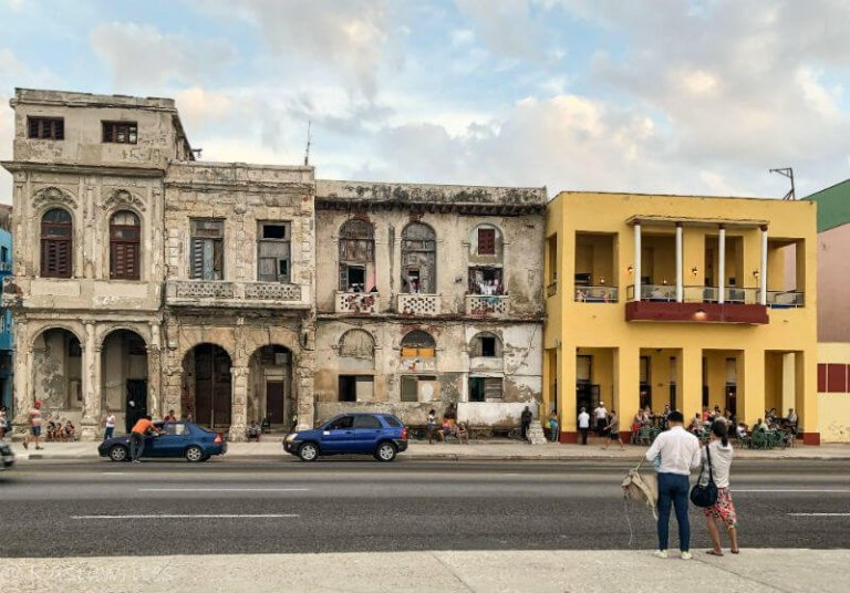 buildings in Havana