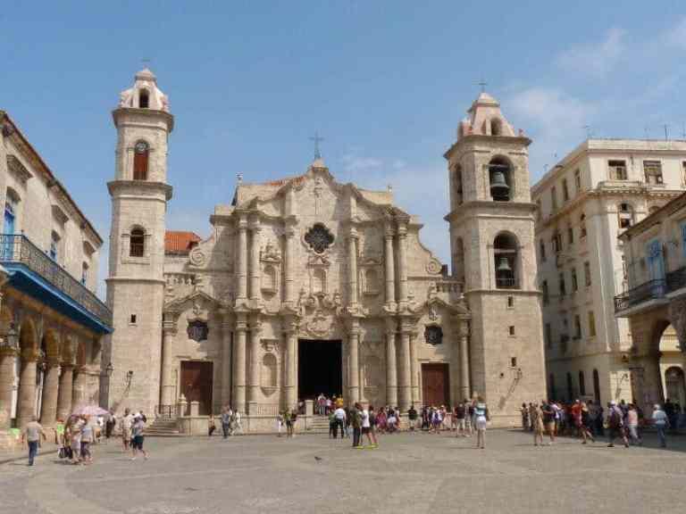 baroque church in Havana