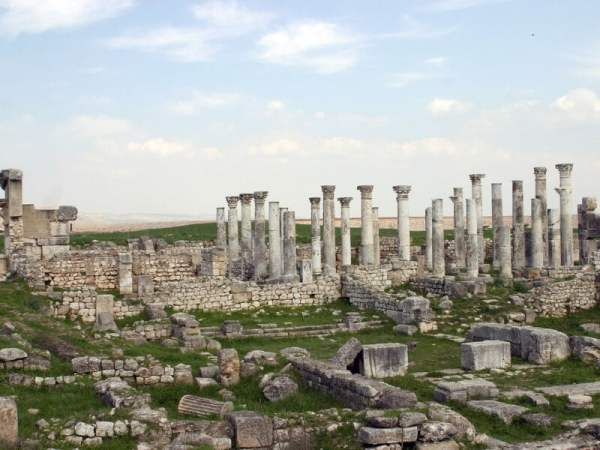 lost city in syria