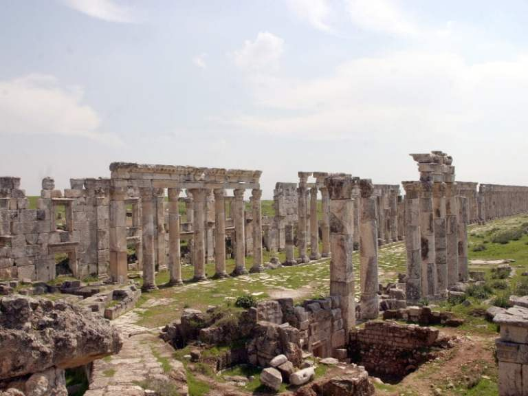 ruins in syria