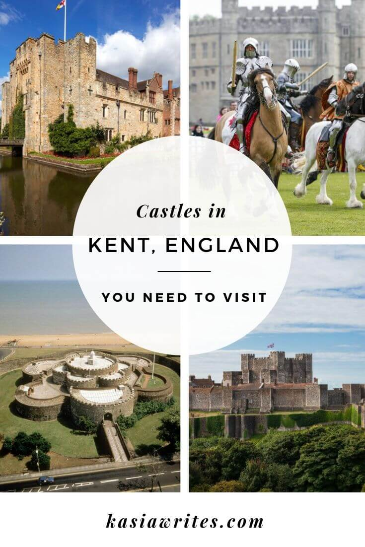 Imposing, diminutive, ornate, plain, perched on a cliff, embedded within rolling fields, walled or moated, Kent's countryside is scattered with castles to suit all tastes. Here are some of my favourites castles in Kent that I've stumbled across on my travel