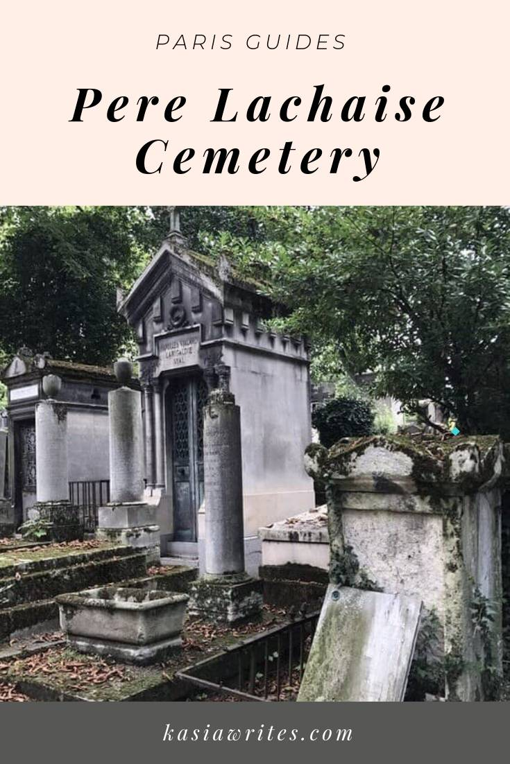 Pere Lachaise cemetery graves
