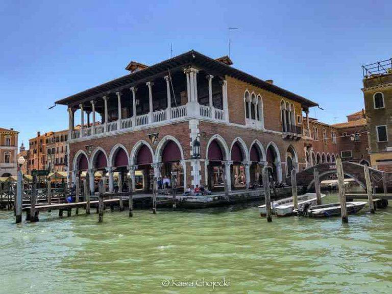 market in Venice Italy