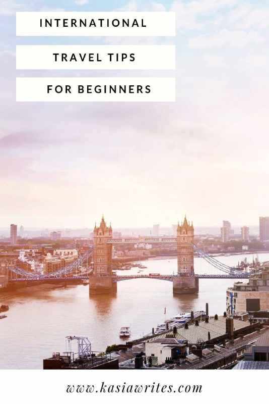 aerial view of Tower Bridge London travel tips