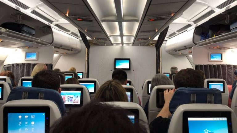 people on the airplane travel tips